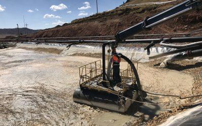 Bomba Goodwin 100ANZE – Limpieza de Poza de Sedimentación – El Brocal